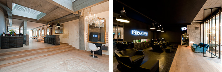 Luxury calm and volume at coiffirst hair salon paris select for Salon kerastase paris