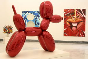 Jeff Koons' Exhibit Opens At National Museum In Italy