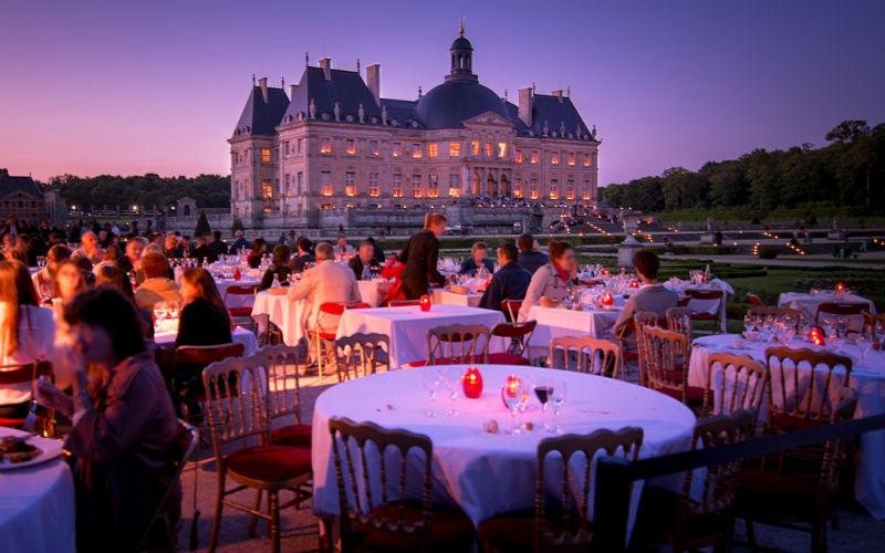 Restaurant Les Charmilles Chateau Vaux Le Vicomte