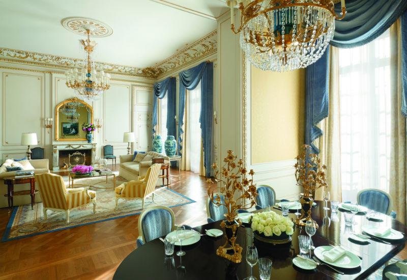Restaurant Shangri La Paris