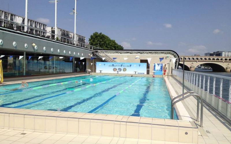 Quelle piscine parisienne pour se d lasser paris select for Piscine josephine baker