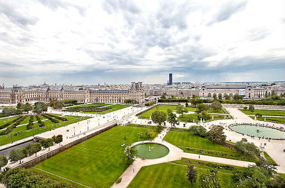 Une journ e rue de rivoli paris select for Au jardin du port le palais