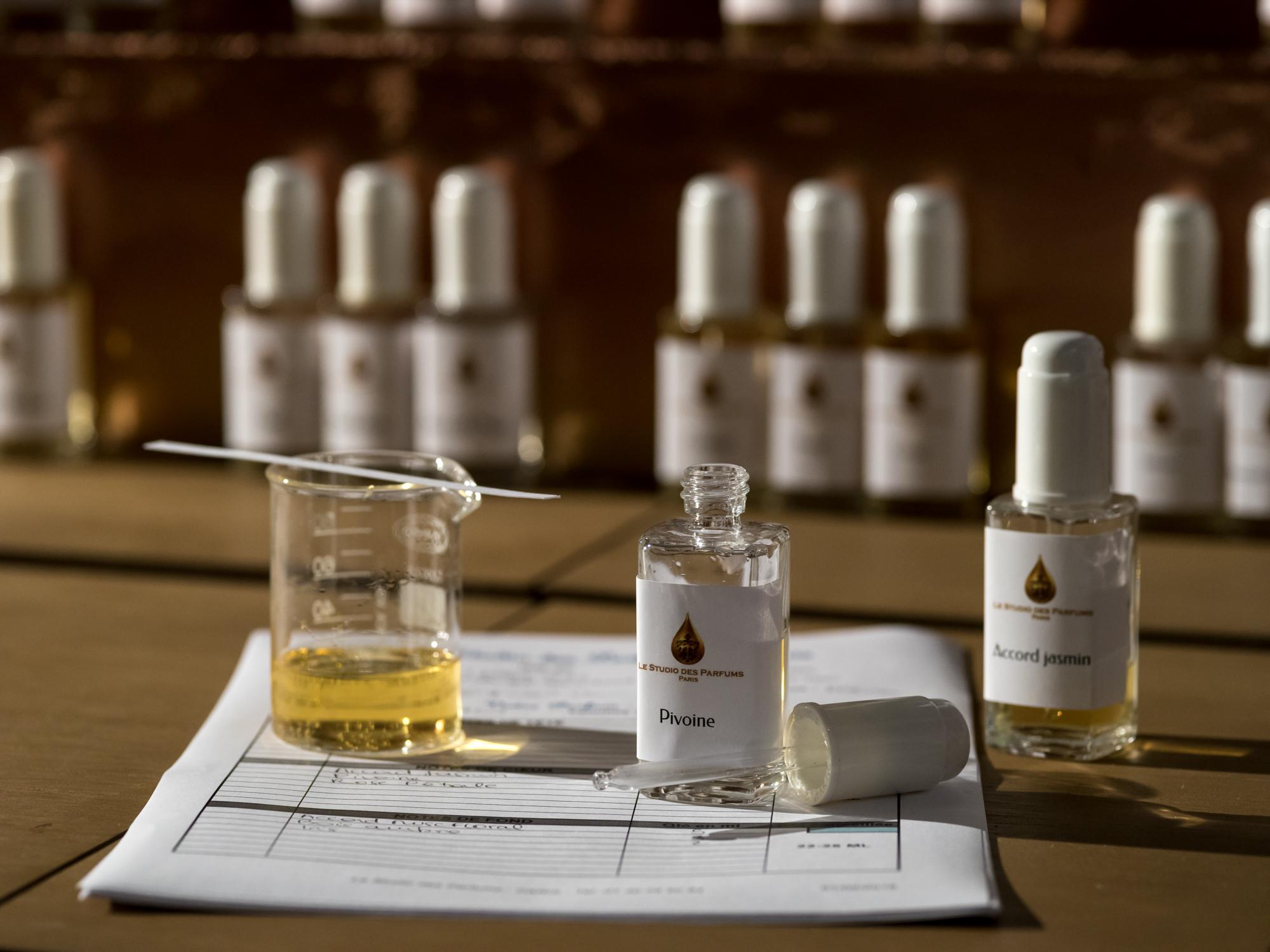 parfum sur mesure paris